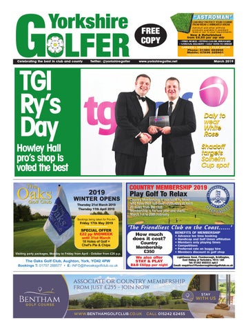 7d1f071d Yorkshire Golfer – March 2019 by The Press Newspaper - issuu