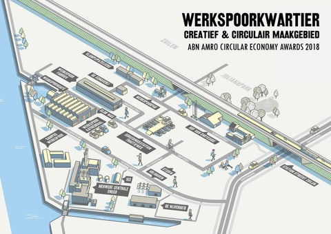 Abn Amro Zitzak.Werkspoorkwartier Creatief Circulair Maakgebied By Utrecht