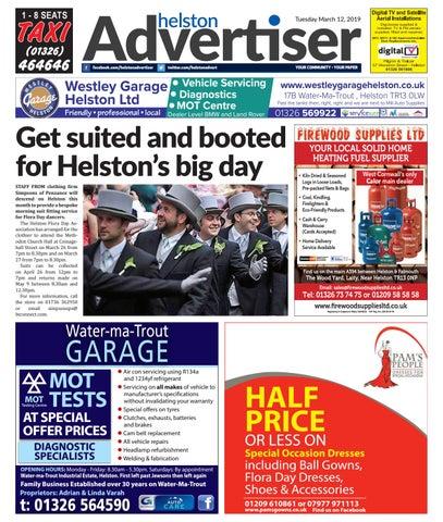 1aae16f8b54c Helston Advertiser - March 12th 2019 by Helston Advertiser - issuu