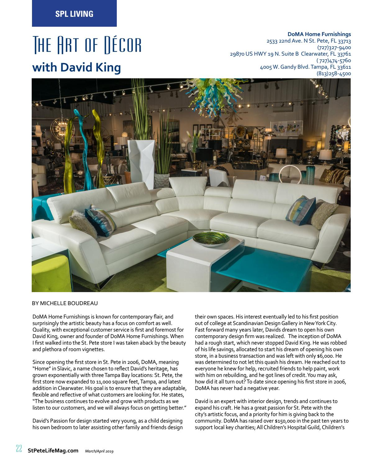St Pete Life Magazine March April 2019 By Stpetelifemag Issuu