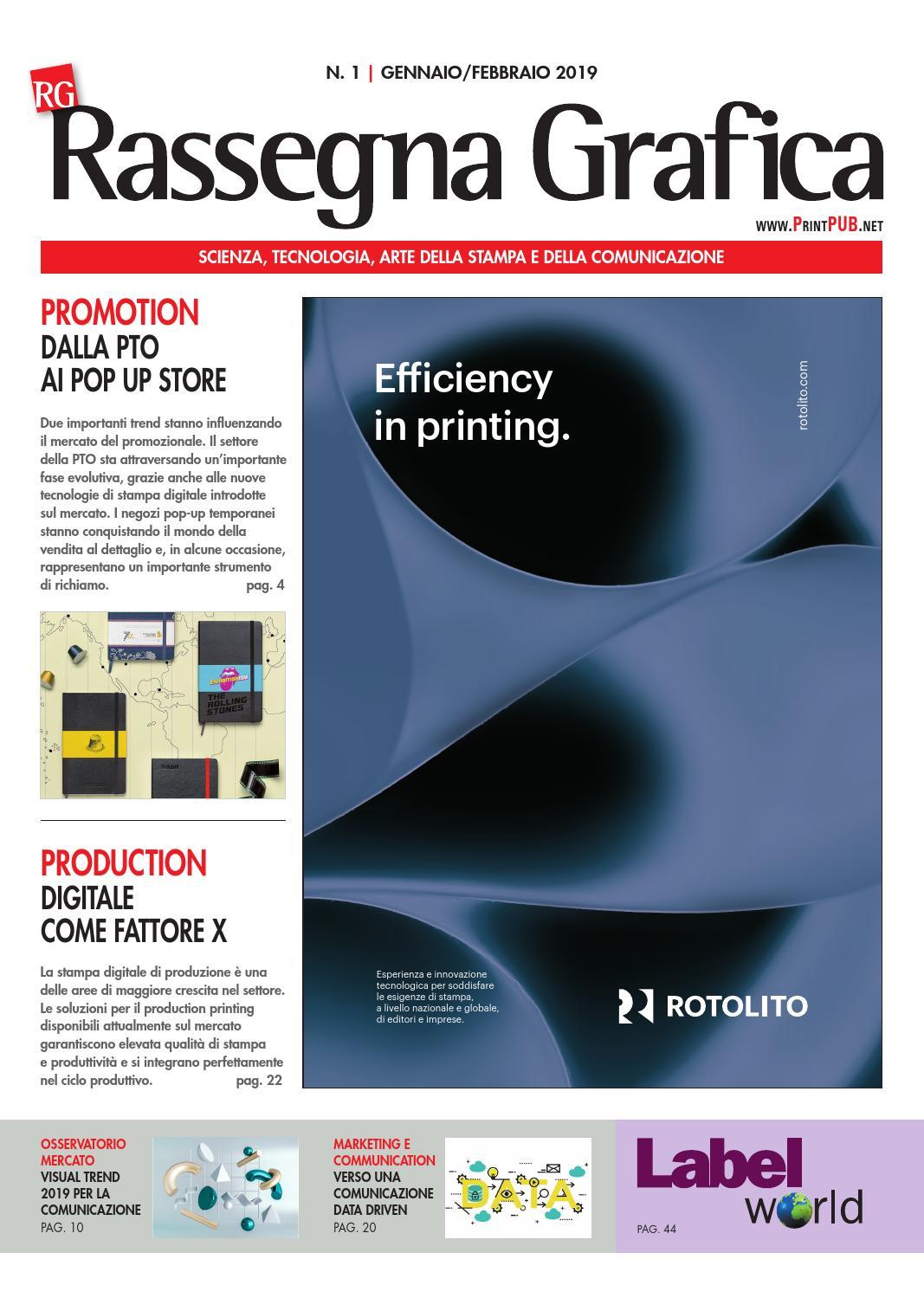 4944edbd0f38ec Rassegna Grafica n.1 - Gennaio/Febbraio 2019 by Innovative Press srl - issuu