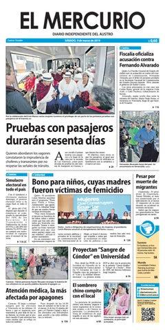 1e53254bfdef El Mercurio-09-03-2019 by Diario El Mercurio Cuenca - issuu