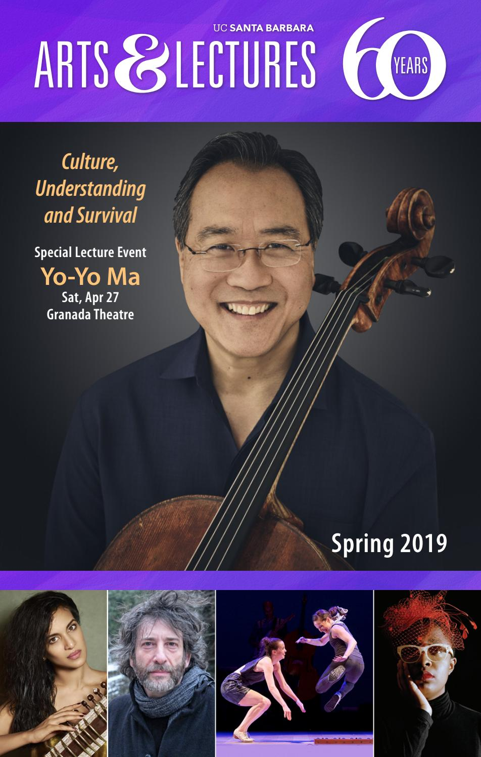 Ucsb Calendar.Ucsb Arts Lectures Spring Calendar 2019 By Ucsb Arts Lectures