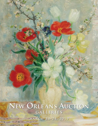 526f62822b922 March 23-24, 2019 Estates Auction by New Orleans Auction Galleries ...
