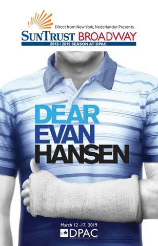 Dear Evan Hansen Playbill by DPAC - issuu