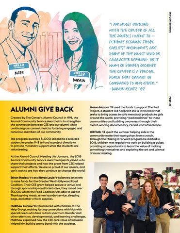 Page 23 of Alumni Stay Connected