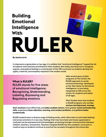 Page 6 of Building Emotional Intelligence with RULER