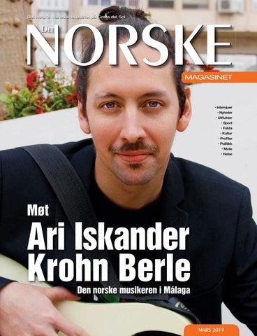 ab9e820e Det Norske Magasinet Mars 2019 by Norrbom Marketing - issuu
