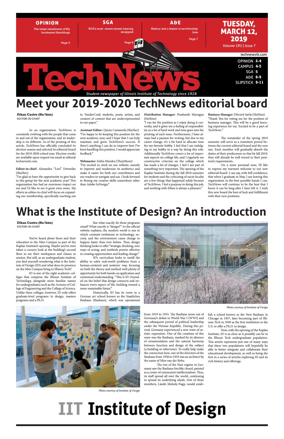 Volume 191 Issue 7 by TechNews - issuu