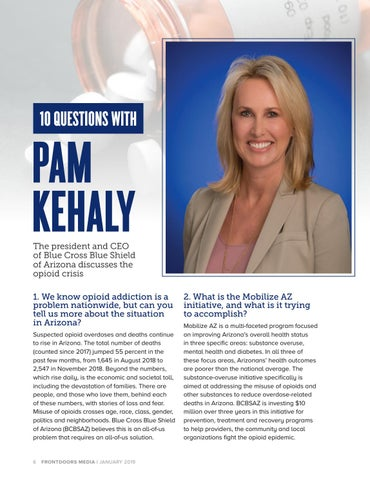 Page 6 of 10 Questions with Pam Kehaly