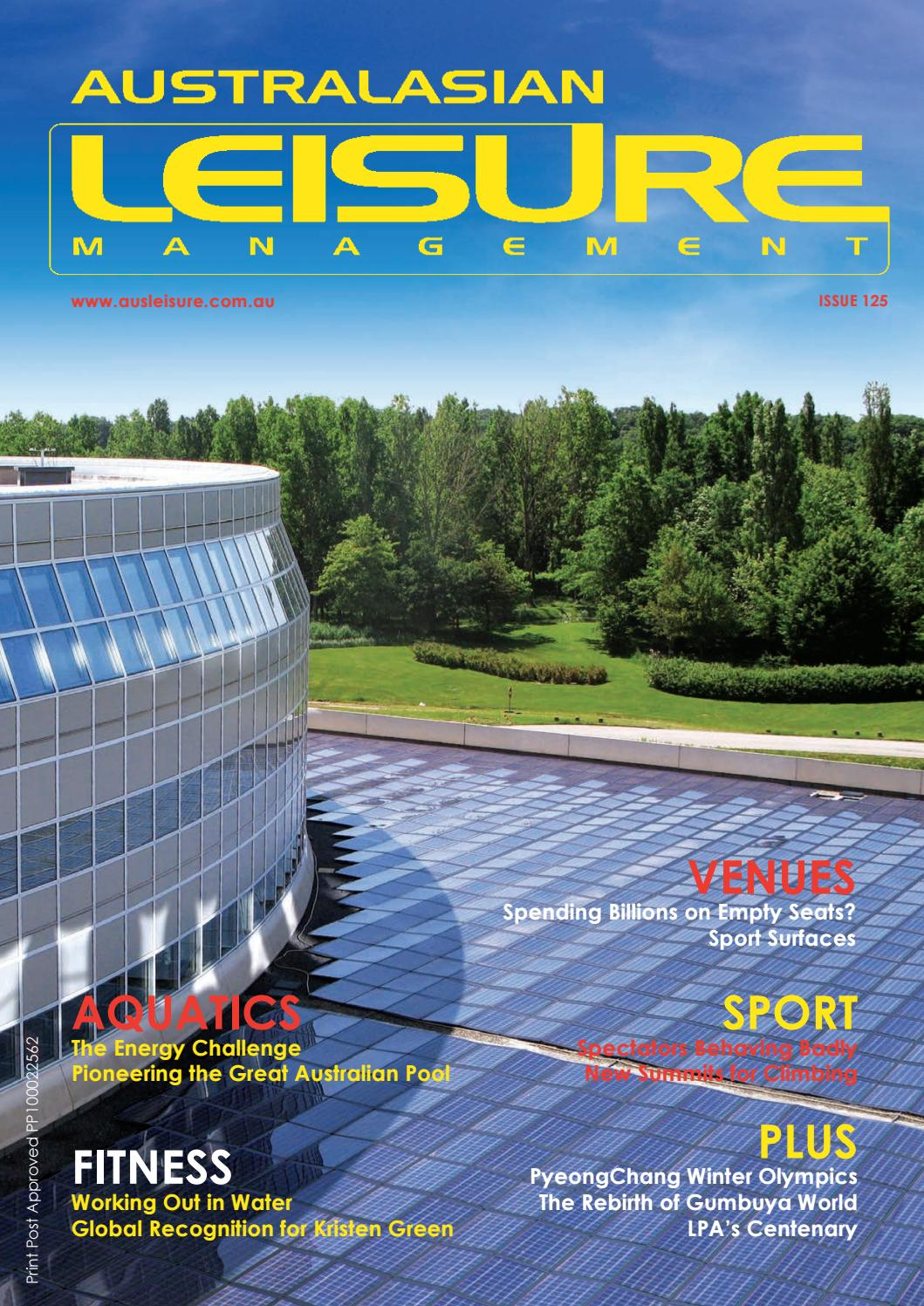 Australasian Leisure Management Issue 125 2018 by