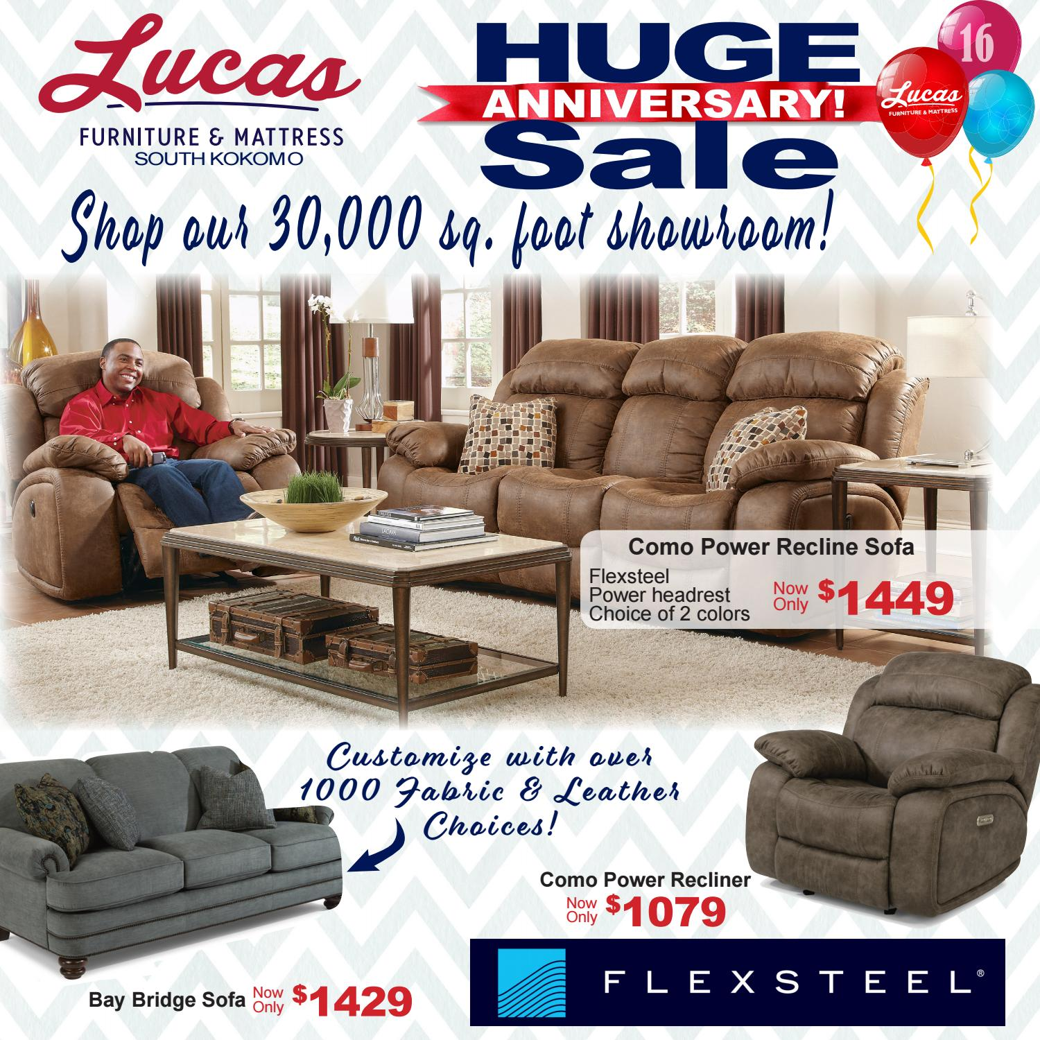 Excellent Lucas Furniture Mattress Anniversary Sale By Kjohnsonlhf Gmtry Best Dining Table And Chair Ideas Images Gmtryco