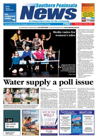 12 March 2019 by Mornington Peninsula News Group - issuu