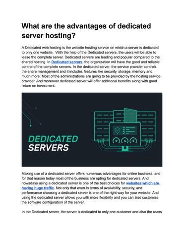 сервер для хостинга продажа