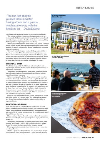 Page 27 of DESIGN & BUILD - A pub for all seasons