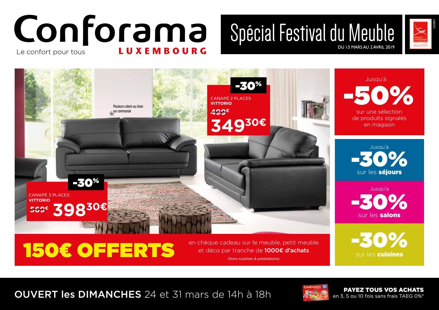 Doc15 Spécial Festival Du Meuble By Conforama Luxembourg