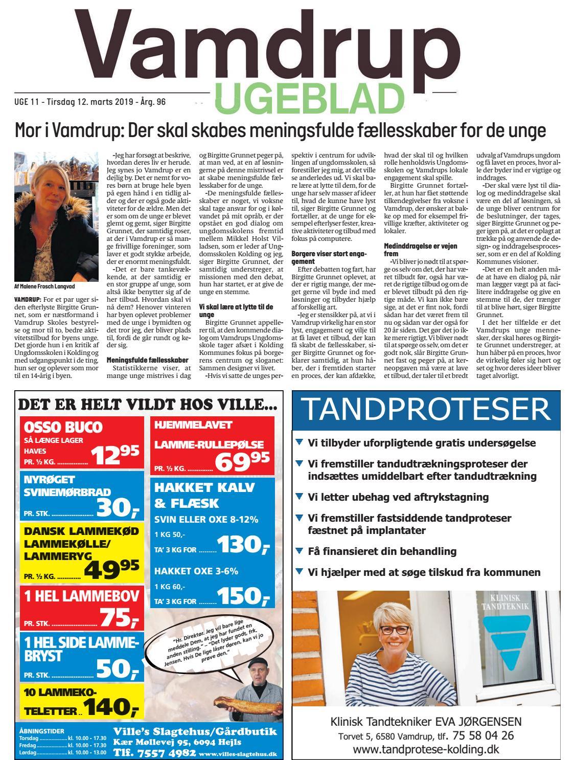 ae946f08 Uge 11 Vamdrup Ugeblad by Vamdrup Ugeblad - issuu