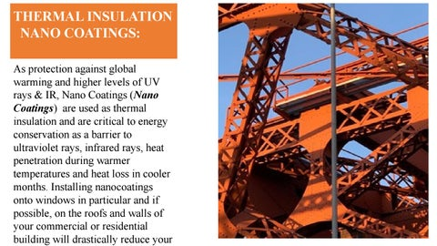 Thermal insulation Nano Coating by Sky Side - issuu