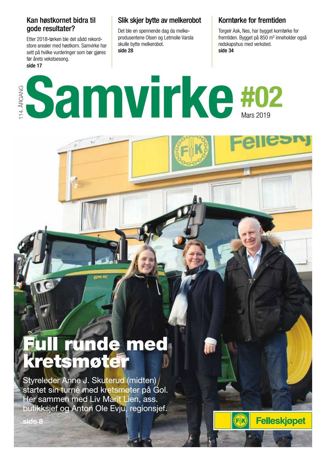d36018be Samvirke 2 2019 by Felleskjøpet Agri - issuu