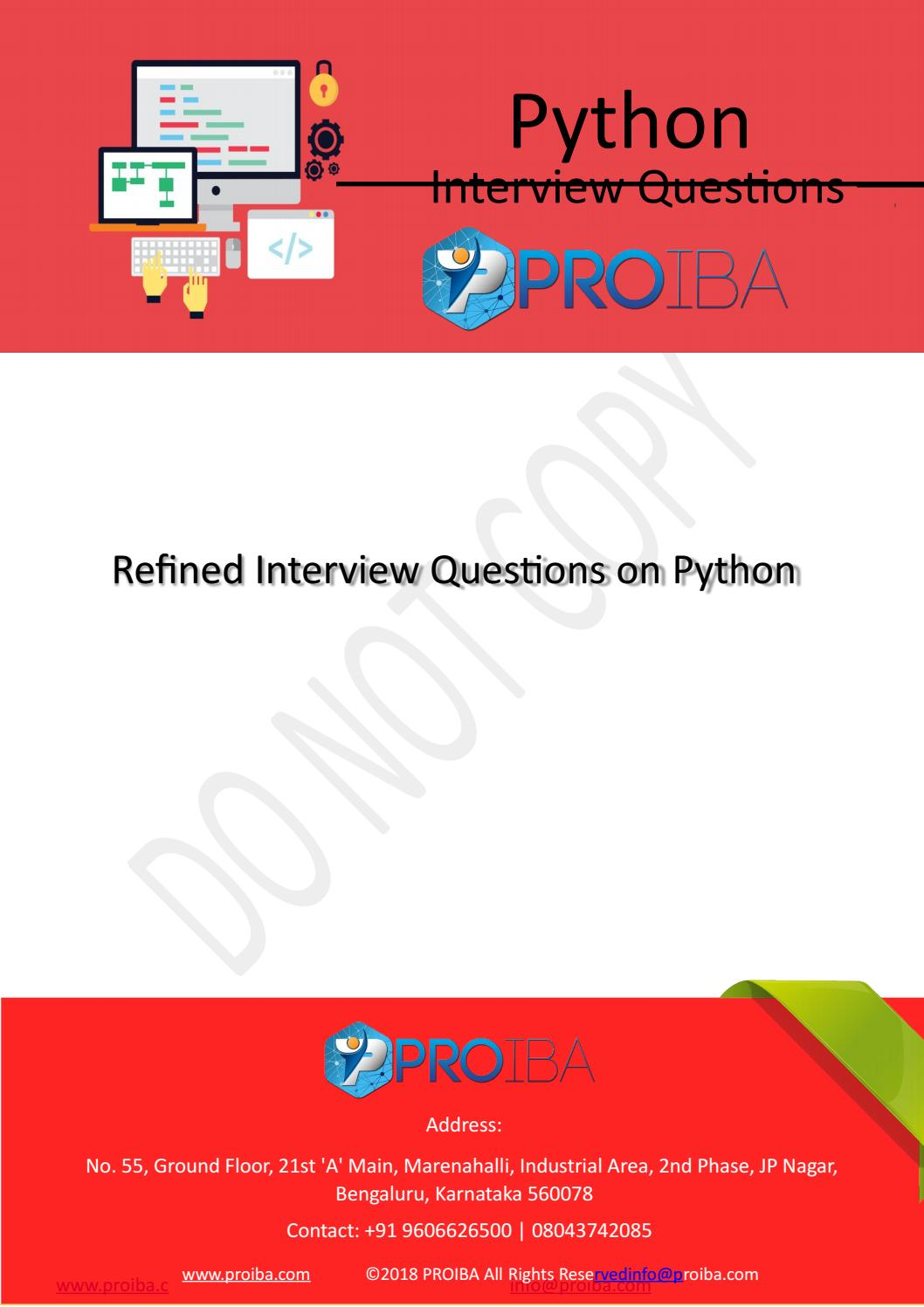 Best Python Training Institute for Business Analysis in