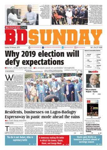 b3534391c068 BusinessDay 10 Feb 2019 by BusinessDay - issuu