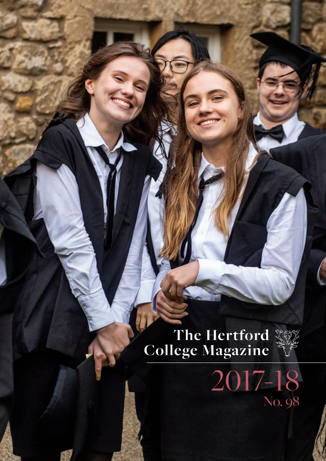 9fc89c7c72e Hertford College Magazine 2017-18 by Hertford College - issuu