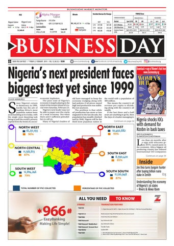 BusinessDay 22 Feb 2019 by BusinessDay - issuu