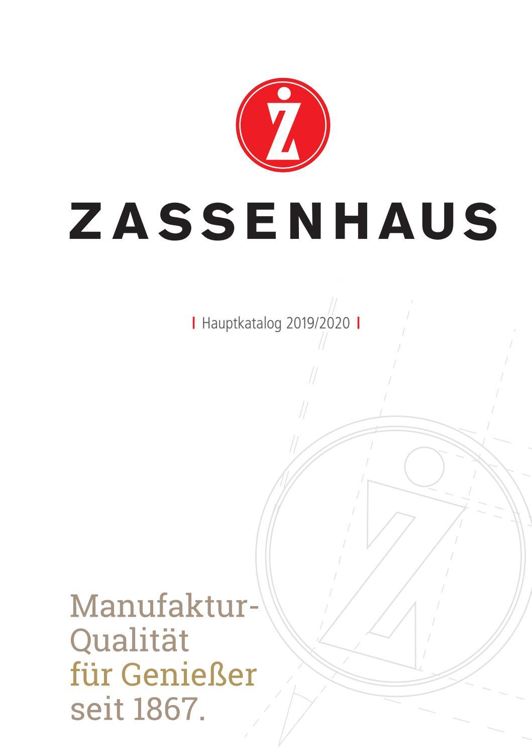 Zassenhaus Pfeffermühle und Salzmühle Set Regensburg schwarz und creme 22 cm neu