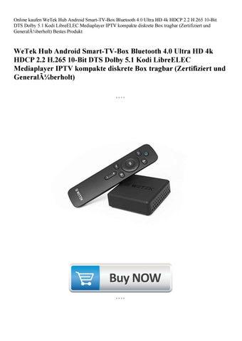 Online kaufen WeTek Hub Android Smart-TV-Box Bluetooth 4 0