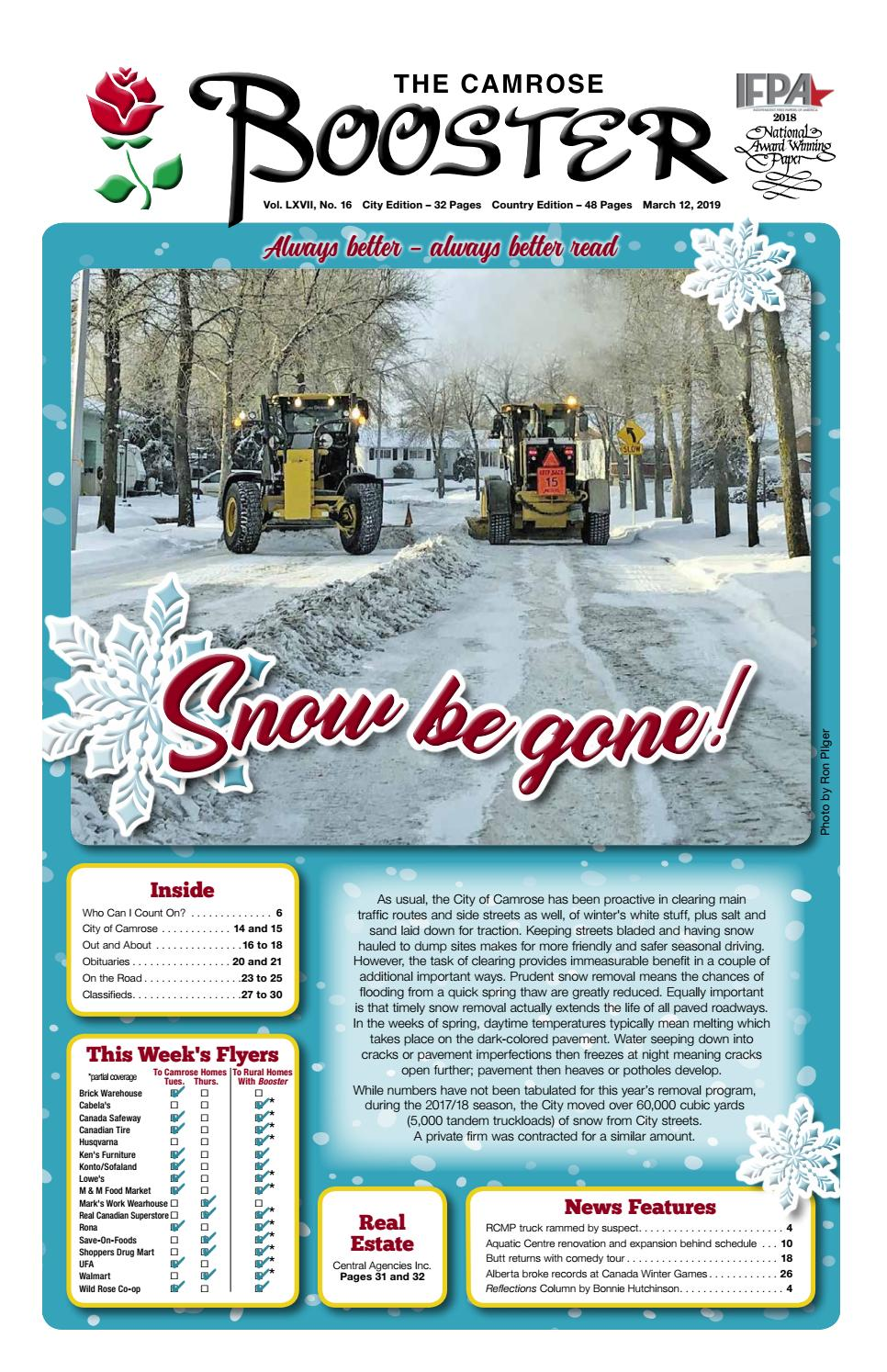 55bbb8bf28988 March 12, 2019 Camrose Booster by The Camrose Booster - issuu