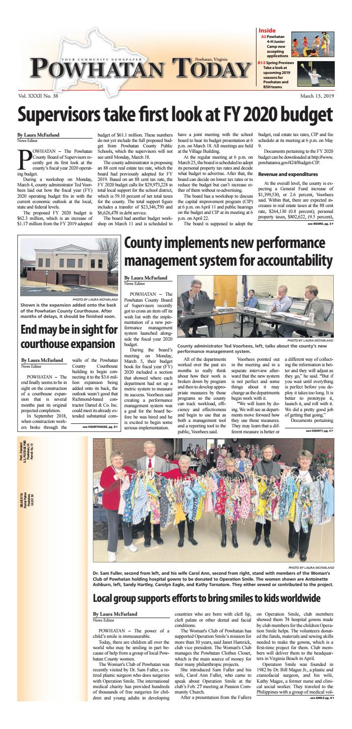 03/13/2019 by Powhatan Today - issuu