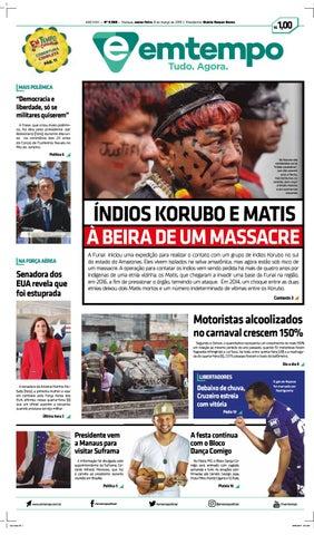 21b1ea6f21f50 Em Tempo - 08 de Março de 2019 by Amazonas Em Tempo - issuu