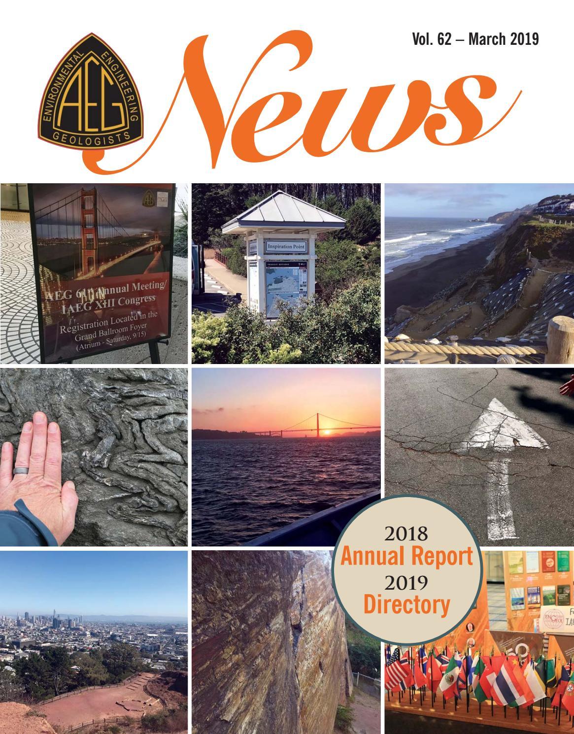 aeg 2018 annual report \u0026 2019 directory by association of