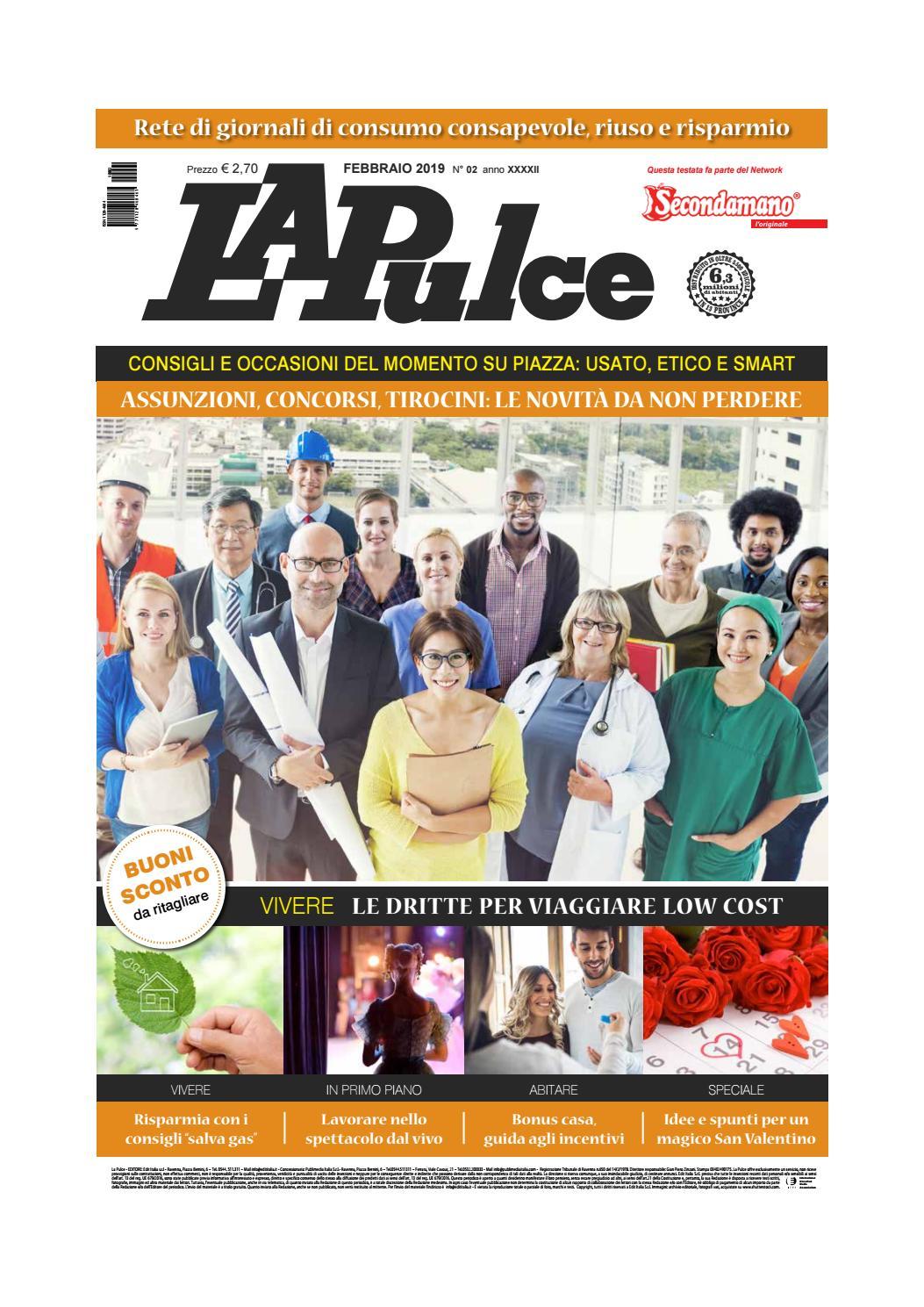 d08b368d27 LA PULCE febbraio 2019 by Edit Italia S.r.l. - issuu