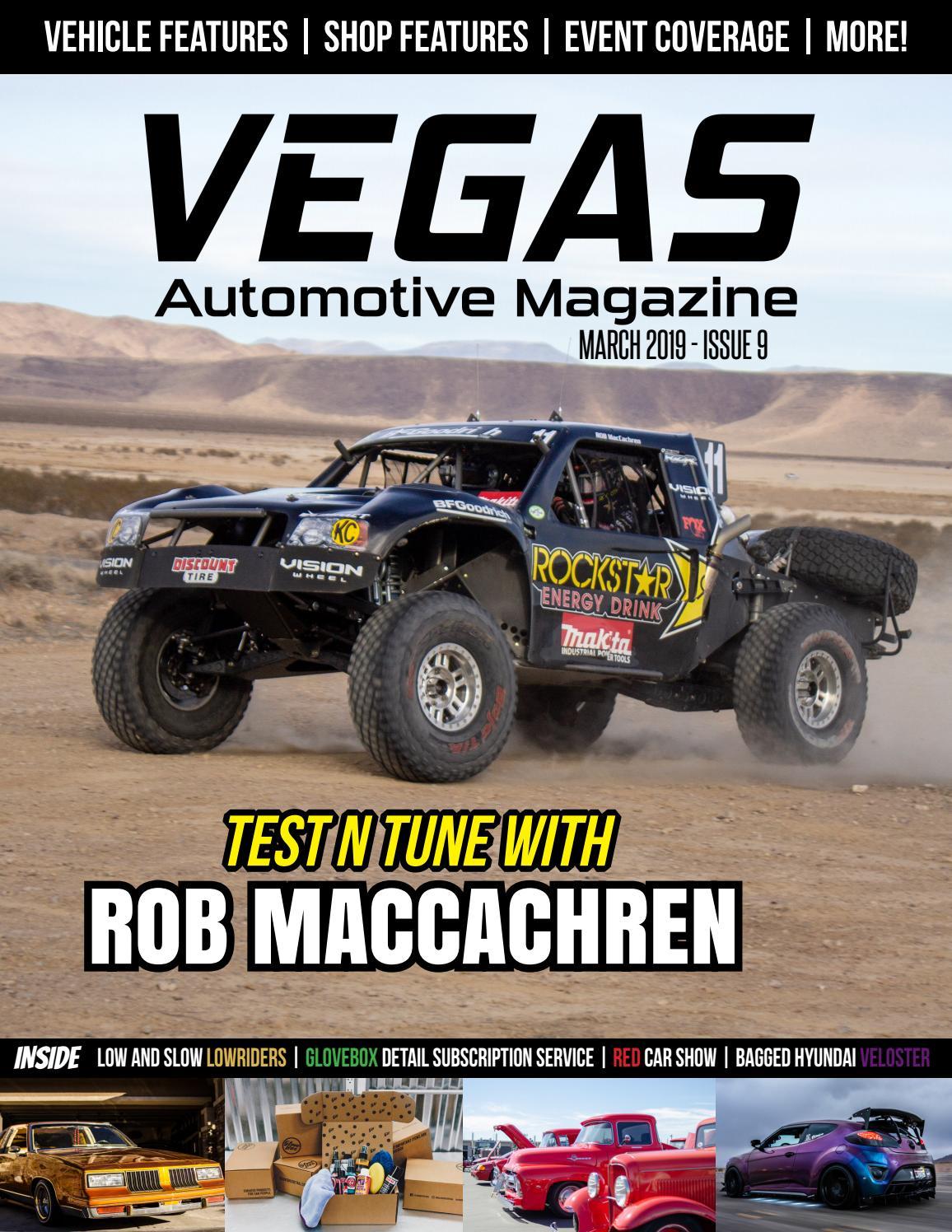 Vegas Automotive Magazine Issue 9: March 2019