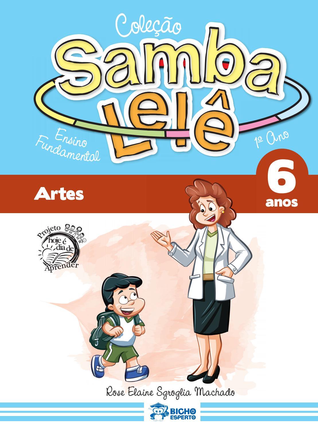 Samba Lele 6 Anos By Editora Rideel Issuu