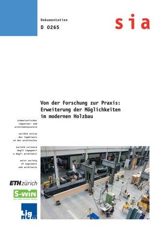 Erweiterung Der Möglichkeiten Im Modernen Holzbau By Lignum
