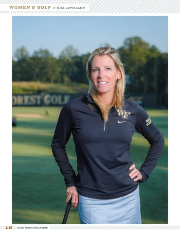 Page 16 of Women's Golf Coach Kim Lewellen: The Right Fit