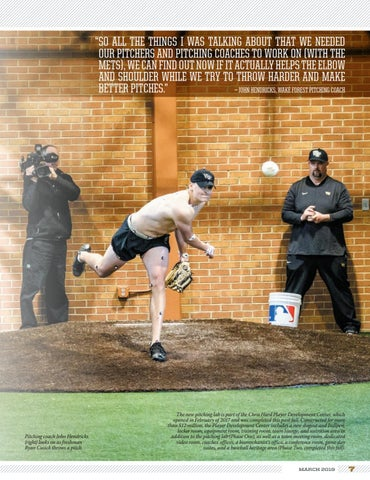 Page 7 of Wake Forest Baseball: In the Lab