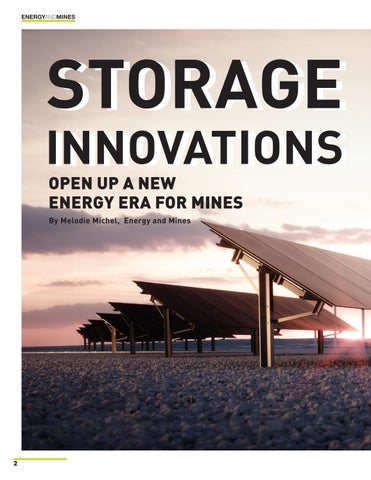 Page 2 of Storage Innovations Open Up a New Era for Mines