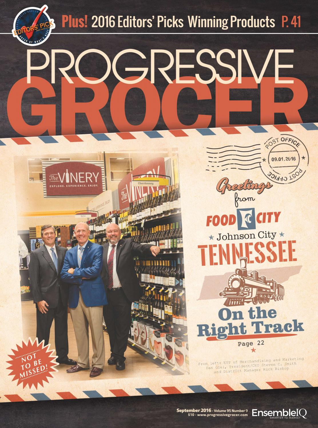 Progressive Grocer - September 2016 by ensembleiq - issuu