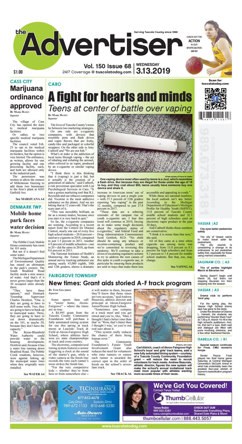 cd8f73108a5 TCA 3-13-19 by Tuscola County Advertiser - issuu