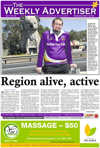 29945840 The Weekly Advertiser - Wednesday, March 13, 2019 by The Weekly ...