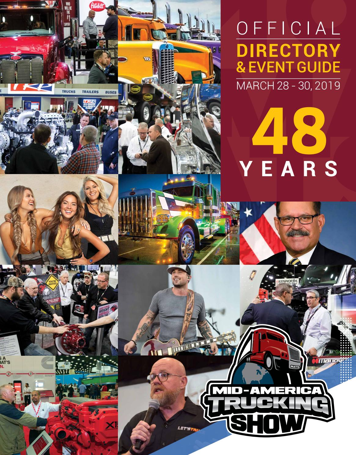 Brilliant 2019 Mid America Trucking Show Digital Directory By Mid Short Links Chair Design For Home Short Linksinfo