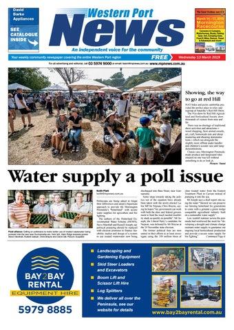 13 March 2019 by Mornington Peninsula News Group - issuu