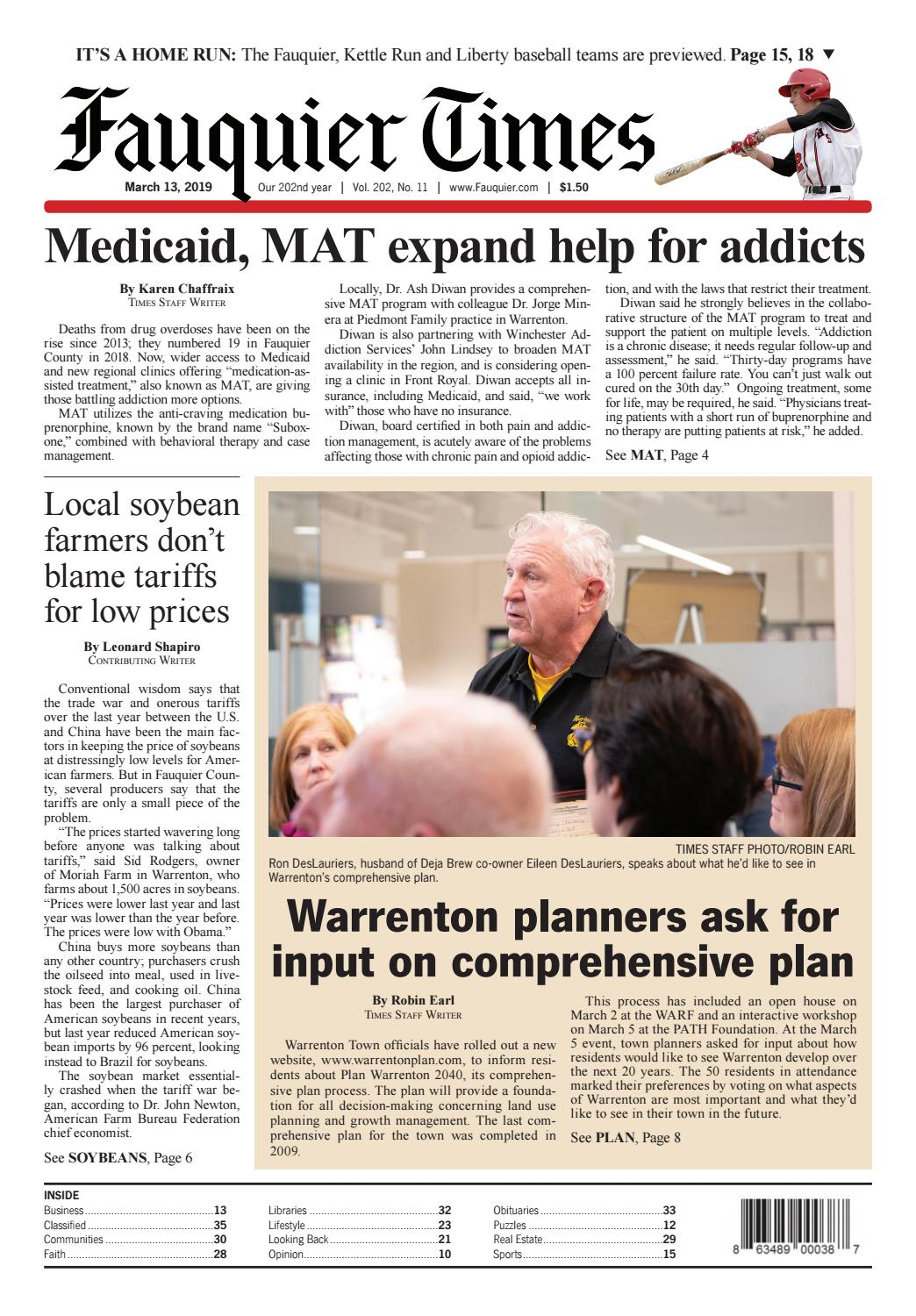 Fauquier Times 3-13-2019 by Fauquier Times - issuu