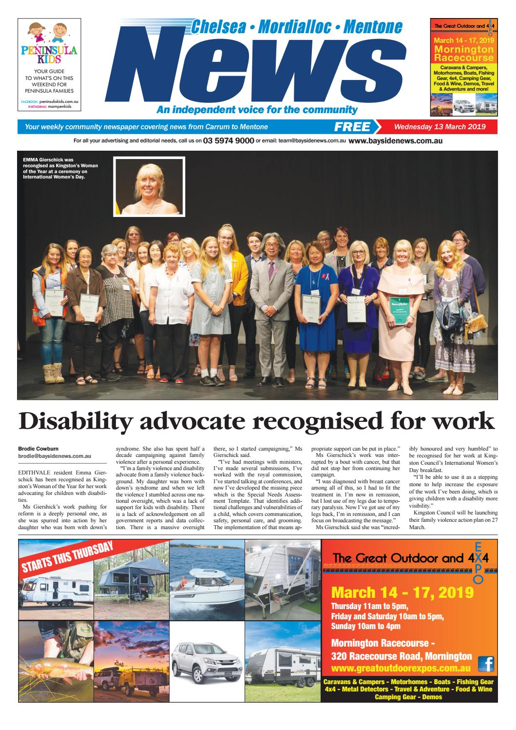 f35096ded7869 13 March 2019 by Mornington Peninsula News Group - issuu