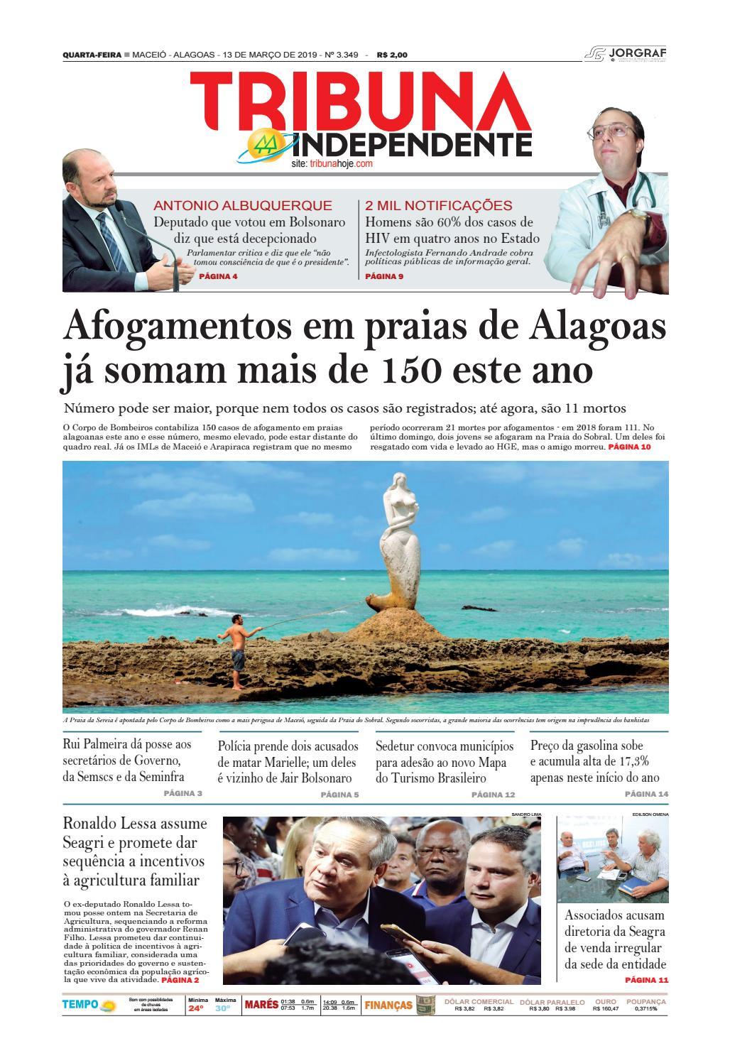 b7d6ef855 Edição número 3349 – 13 de março de 2019 by Tribuna Hoje - issuu