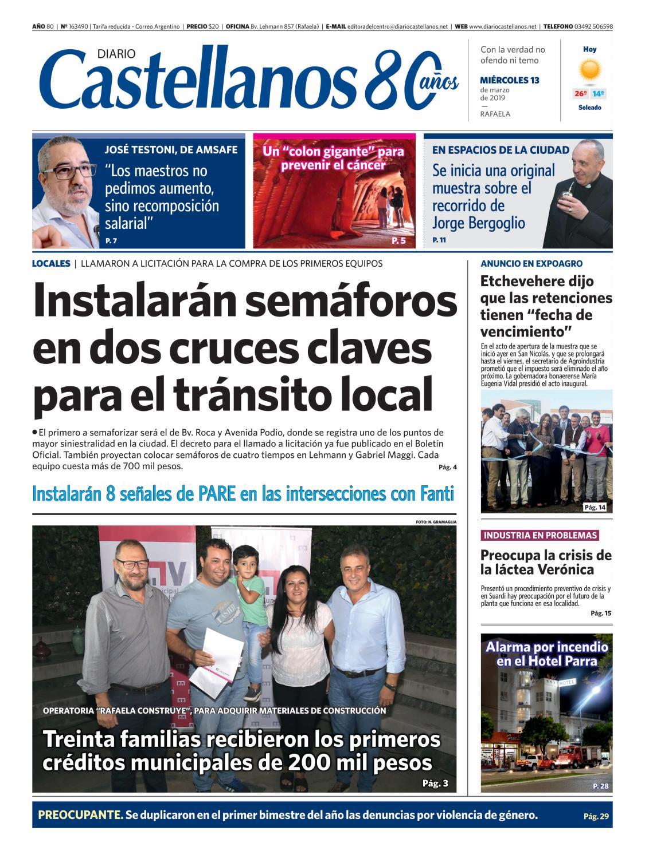 5e3aa48951 Diario Castellanos 13 03 19 by Diario Castellanos - issuu