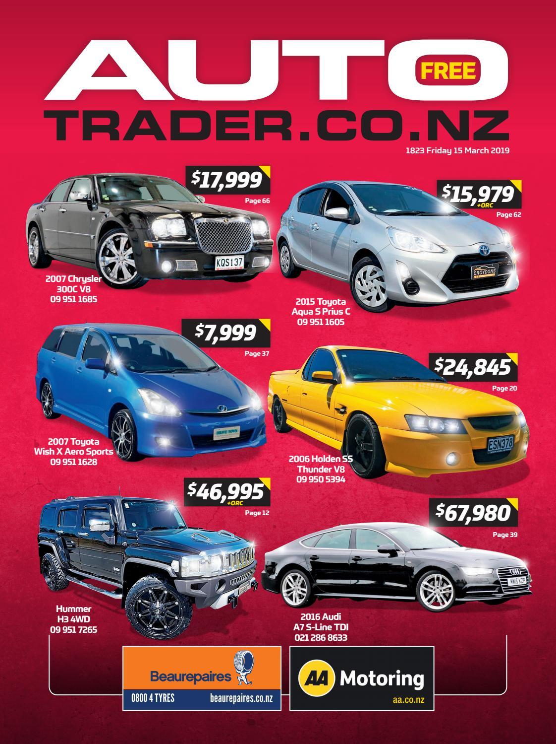 Autotrader Nz Issue 1823